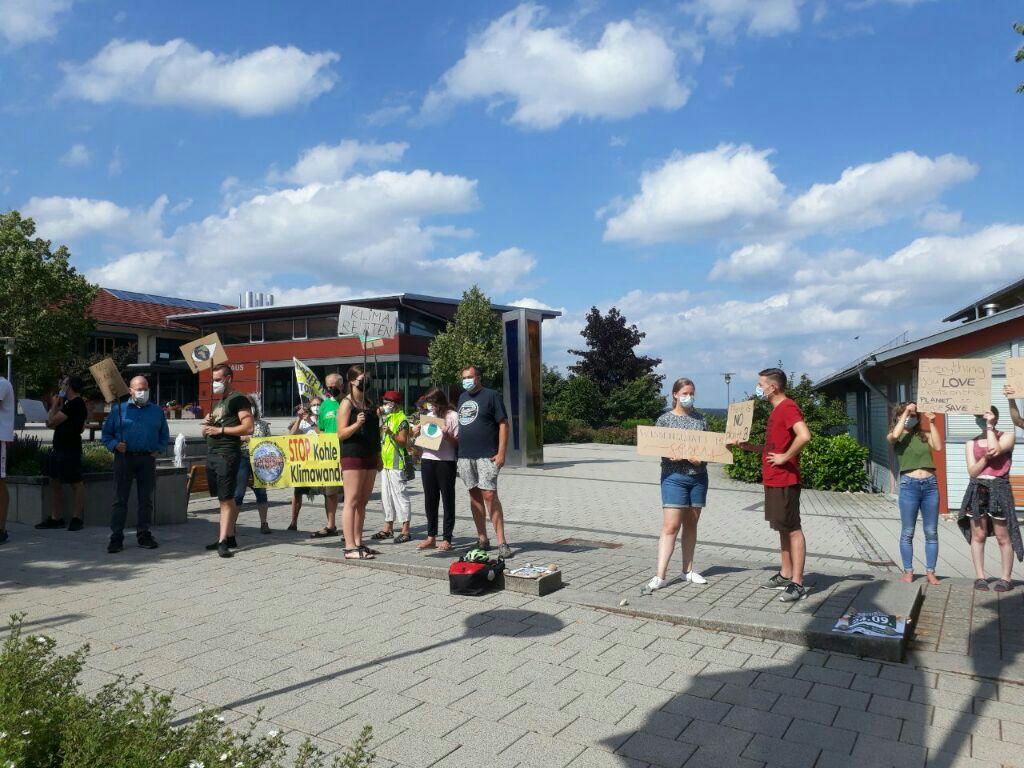 Rede bei FFF-Demo in Loßburg