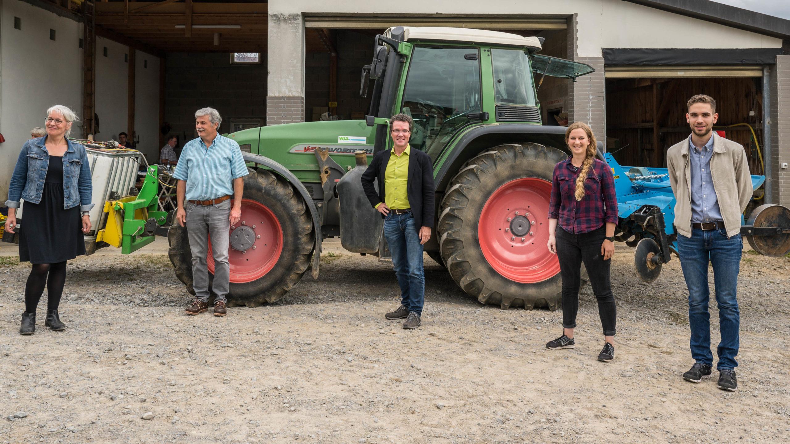 Raus aus eingefahrenen Mustern – Grüne Bundestagskandidatin Sara Haug mit MdB Harald Ebner (Bündnis 90/Die Grünen) in Vollmaringen