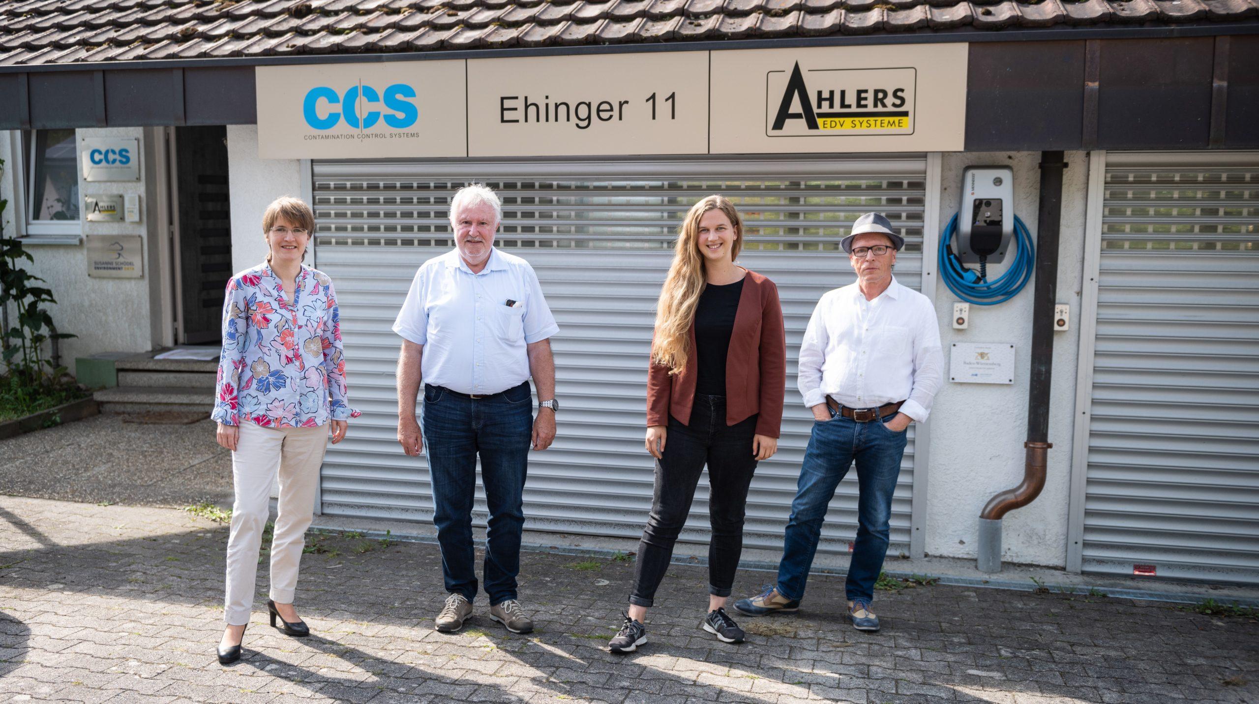 Besuch bei CCS Meßgeräte Vertriebs-GmbH in Wildberg-Sulz