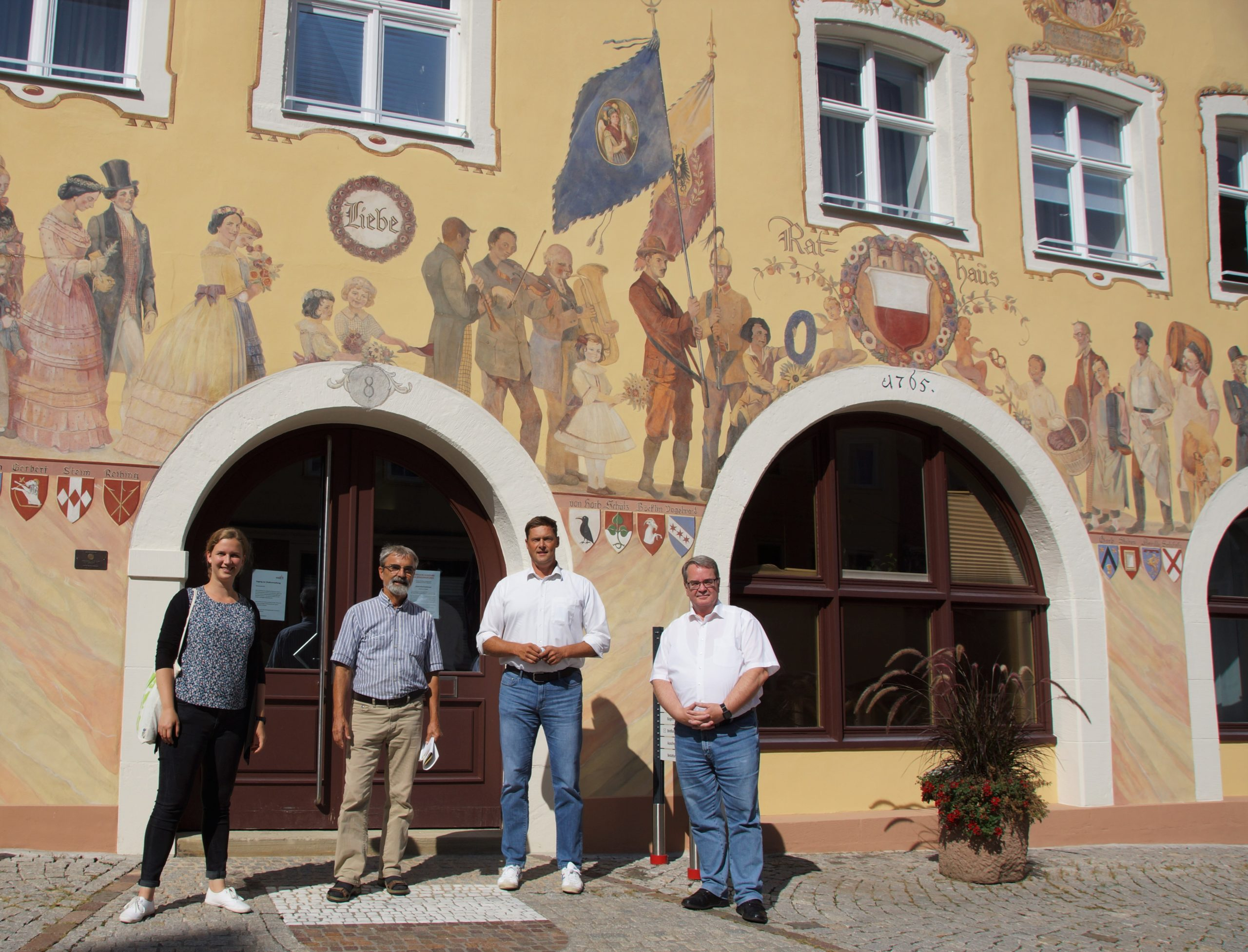 Verkehr, Windkraft und Corona – Sara Haug zu Besuch in Horb am Neckar